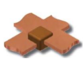 copper-bar-to-copper-bar-half-cross-joint-graphite-mould